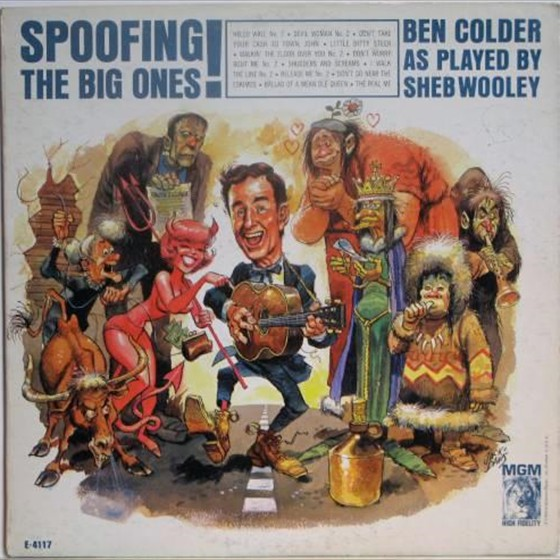 Ben Colder - Spoofing the Big Ones!